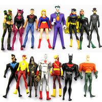 random 10Pcs DC Comics Universe Young Justice Jul ARTEMIS Batgirl Figure Collect