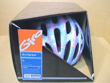 New-Old-Stock Giro Eclipse Helmet (Size Large)...Pink w/Blue Flower Design