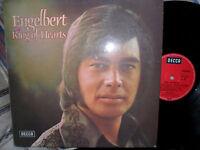ENGELBERT HUMPERDINCK LP GERMAN KING OF HEARTS DECCA RED GERMAN 17036 P 1973