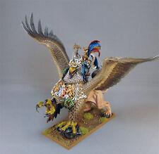 Warhammer edad de Sigmar El Imperio Karl Franz en sanguinarios Pintado