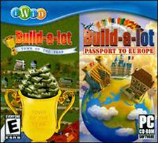 BUILD-A-LOT 2 PACK - Build a Lot 2 Town of the Year + 3 Passport to Europe - NEW