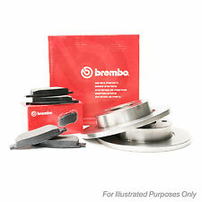 Renault Trafic 1.9 dCi Genuine Brembo Rear Brake Disc & Pad Set