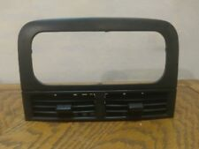 1999-2004 Jeep Grand Cherokee Radio Trim Bevel w/ Vents Black