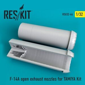 Reskit RSU32-0044 - 1/32 F-14A open exhaust nozzles for TAMIYA Kit model scale