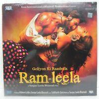 Ram Leela Vinyl LP Record Hindi Film Soundtrack Bollywood Indian MInt