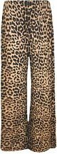 New Womens Plus Size Leopard Print Maxi Swing Dress Leggings Palazzos 8-30