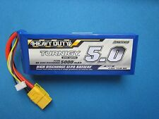 TURNIGY 5000mAh 4S 14.8V 60C 120C LIPO BATTERY XT90 HEAVY DUTY TRUCK BOAT BUGGY