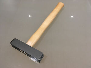 Stone Mason's/Carver's 25mm x 25mm Double Ended Bouchard Hammer