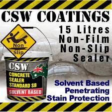 Penetrating Concrete Sealer Solvent Based - Moisture Protection - Non Slip 15L