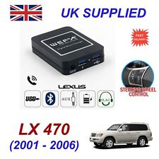 For Lexus LX470 Music Streaming Bluetooth Telephone Charger SD AUX CD Module 5+7