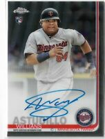 2019 Topps Chrome Baseball Rookie Autograph Willians Astudillo Minnesota Twins