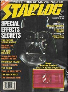 Starlog #56 -- Mar 1982 -- TESB, Forbidden Planet, SW