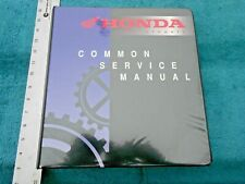 Original Factory Honda Common Service Manual Motorcycles Atv Scooter Education
