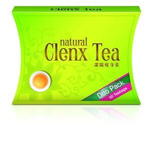Nh Detoxlim Clenx Tea for Natural Weight Loss & Detox 55 Sachets