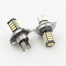 Pair 6V Motor White Bulbs Car H4 LED Motorcycle Headlight Bulb 56 SMD Hi/Low kit
