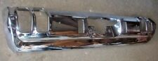 1970 70 Cutlass Rear Bumper Chrome Plated Standard w/o Exhaust Cut Outs New