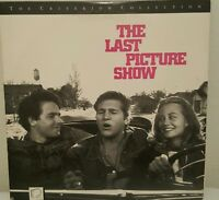 The Last Picture Show Criterion Widescreen Laserdisc CLV +Interview Jeff Bridges