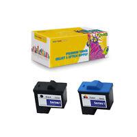 (2PK) Compatible T0529 Black& T0530 Color Ink Cartridges for Dell Photo 720