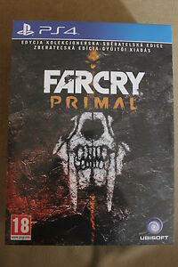 Far Cry Primal Collector's Edition PS4 - NEW READY TO SEND ENGLISH, POLISH