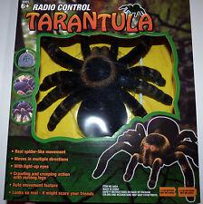 New RC Tarantula Radio Control Spider Remote Control Scary Bug Halloween Prop