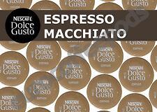 Dolce Gusto Espresso Macchiato Cortado Pods 100 Capsules 100 Drinks Sold Loose