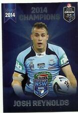 2014 ESP NRL STATE OF ORIGIN NSW BLUES BULLDOGS JOSH REYNOLDS SOO16 CARD