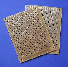 2 X Experimentier Platine Prototype Board 7x9cm Leiterplatte Lochraster Kupfer