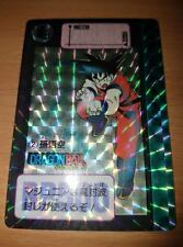 Carte Dragon Ball Z DBZ Carddass Hondan Part 90' #2 Prisme 1990 MADE IN JAPAN