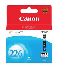 New Genuine Sealed Canon CLI-226 CLI-226C Cyan Ink Cartridge Pixma 4547B001