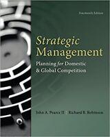 Strategic Management 14e Global Edition