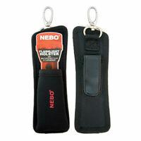 NEBO 5089 CSI Flashlight Holster w/ Carabiner & Pocket Clip