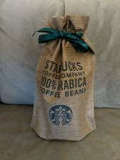 Starbucks Coffee Tea Mug Cup Tumbler Fabric Storage Gift Bag