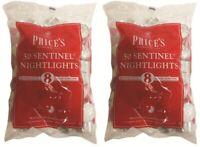 100 Prices Tea Lights Night Candles 8 HOUR BURN Unscented Tealights Nightlight
