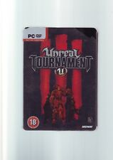 UNREAL TOURNAMENT III LIMITED COLLECTOR'S EDITION PC GAME STEELBOOK METAL TIN CC