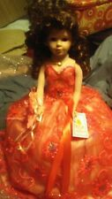 18 In Miss Quince Anos Umbrella Doll
