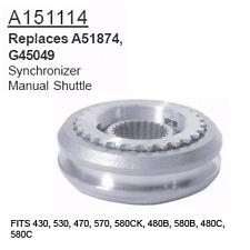 A151114 Case Tractor Parts Synchronizer 430, 530, 470, 570, 580CK, 480B, 580B, 4
