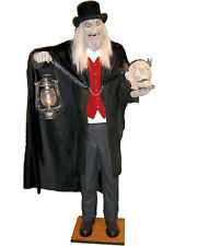 Morris Costumes Evil Scaretaker Animated Hand Painted Life Size Prop. VA944