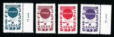 Poland Stamps 4 Values Balloon Set 1962
