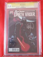 Marvel Darth Vader #1 CGC SS 9.6 Signed by Whilce Portacio VARIANT COVER