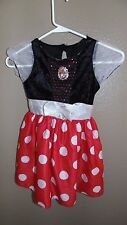 DIsney Minnie Mouse Costume Dress Halloween Size 18-24 Months Toddler