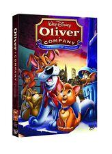 DISNEY DVD Oliver & Company ed. speciale con slipcover