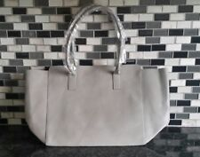 The Shopping Channel Lightweight Grey Tote- New