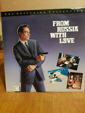 Laserdisc - James Bond 007 - NTSC Version From Russia With Love