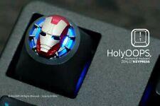 Holyoops 3D Ironman Anodised Aluminium Keycap For CherryMX mechanical