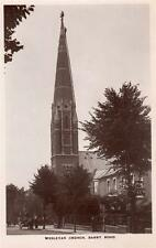 Wesleyan Church Barry Road East Dulwich RP old pc used 1914 F A Finch Peckham Ry