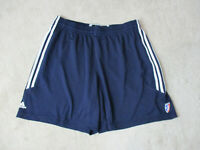 Adidas WNBA Basketball Shorts Womens 2XL XXL Blue White Athletic Gym Ladies