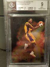 KOBE BRYANT 2000 FLAIR SHOWCASE GUARANTEED FRESH BGS 9 Lakers