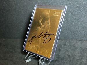 Kobe Bryant 1997-98 Fleer Rookie 23KT Gold