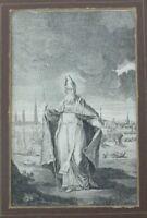 Grafik  Bischof um 1700  R57
