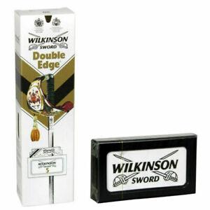 PACK OF 100 WILKINSON SWORD | Double Edge Razor Blades | Premium Safety DE / UK